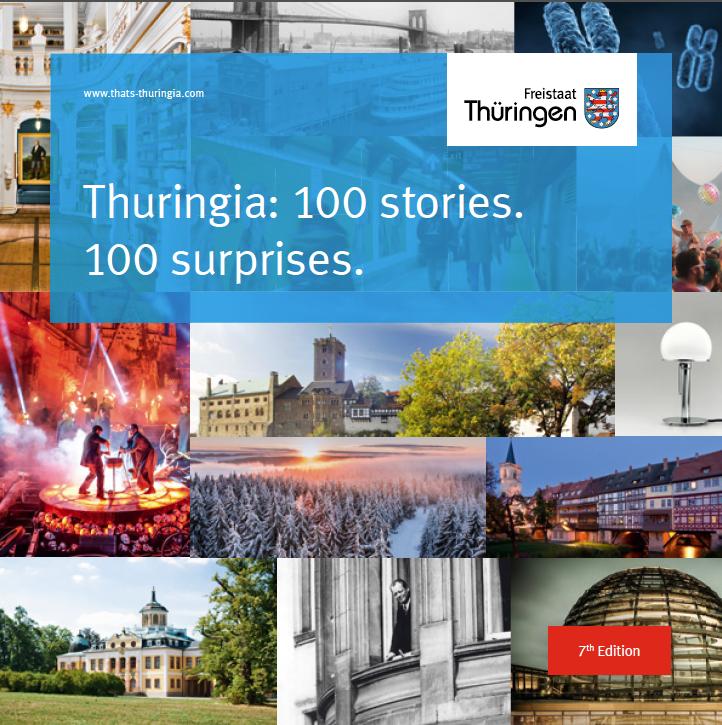 Thüringen. 100 Geschichten. 100 Überraschungen. (ENG)