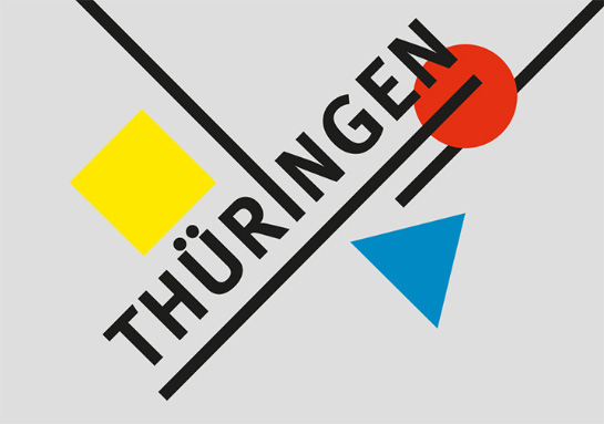 Postkarte Bauhaus