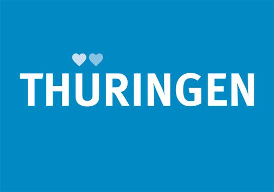 Postkarte Thüringen